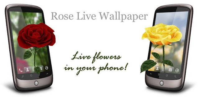 3D Rose Live Wallpaper v3.5 APK Free Download