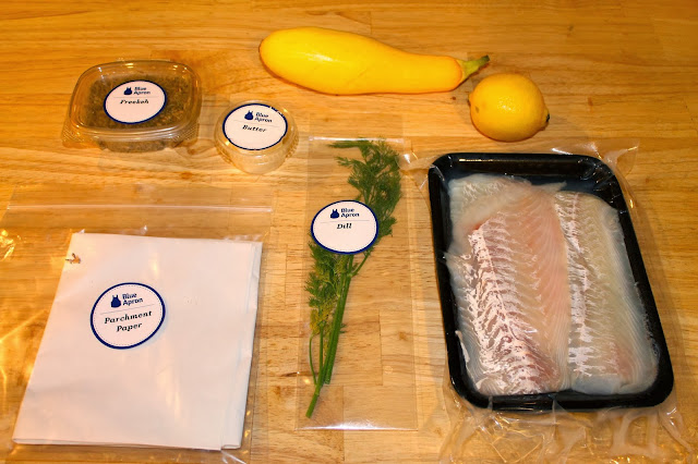 Blue Apron, fish