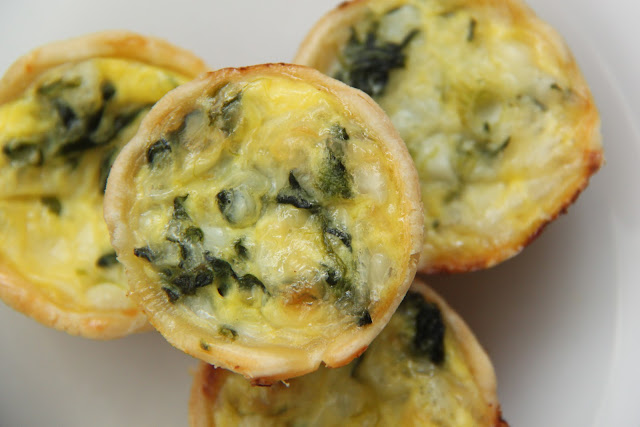 Egg, Spinach And Two Cheese Crustless Quiche Recipes — Dishmaps