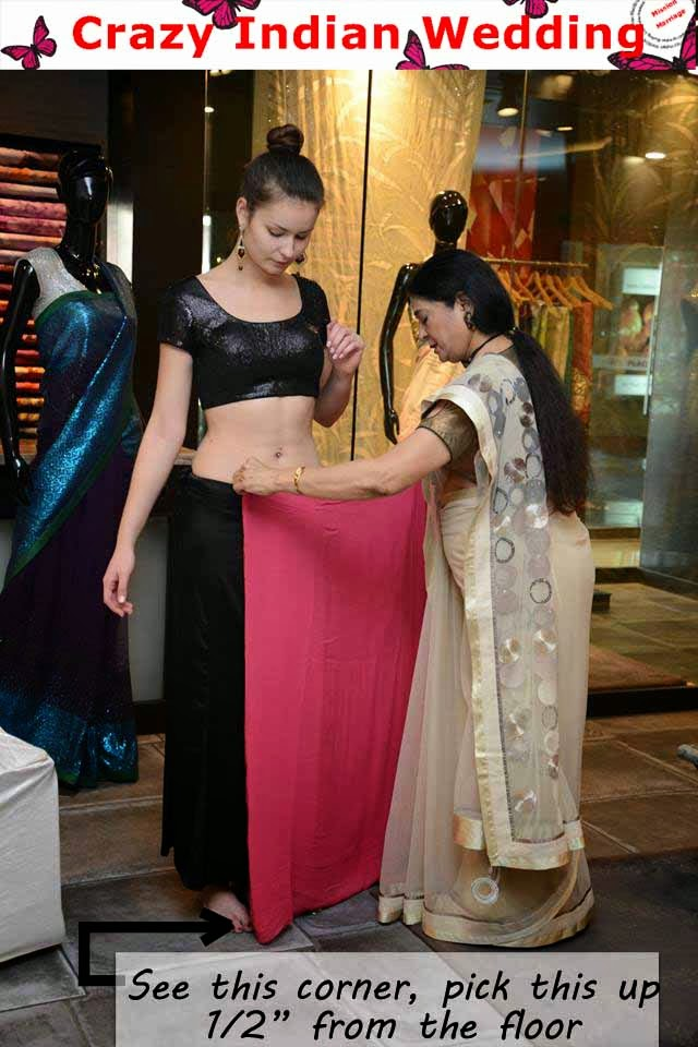 Crazy Indian Wedding : Mission Marriage: Dummy Guide to Saree ...
