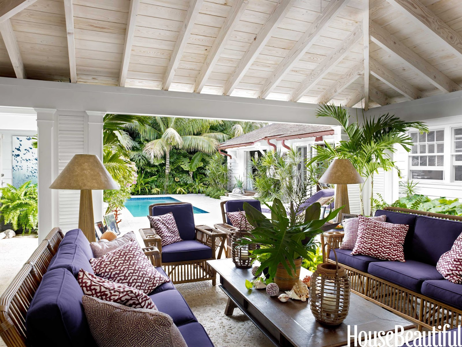 Palm beach prize pulitzer in purple house beautiful for House of liza