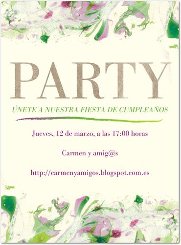 Sorteo en el blog Carmen y amig@s