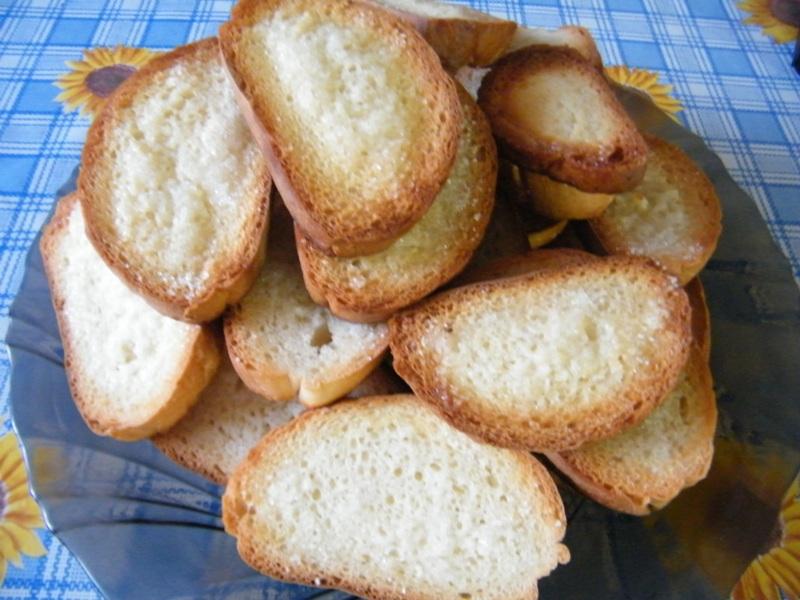 Как сделать в духовке вкусные сухари 102