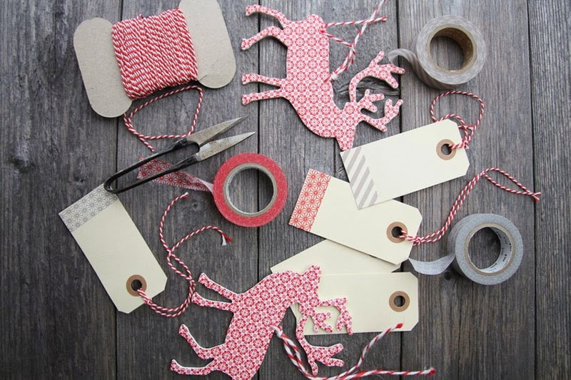 Como decorar tus Navidades con Washi Tape