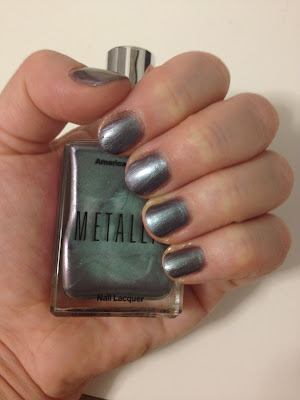 American Apparel, American Apparel Smoke Dazzle, nail polish, nail varnish, nail lacquer, manicure, mani monday, #manimonday, nails
