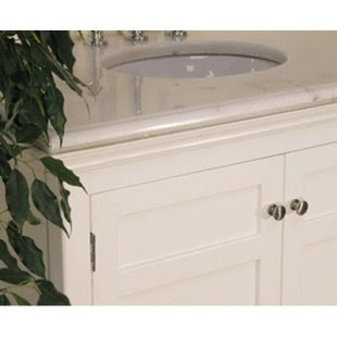 Simple 30-Inch Single Sink Bathroom Vanity 4