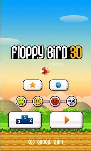 Floppy Bird 3D Android Gameplay