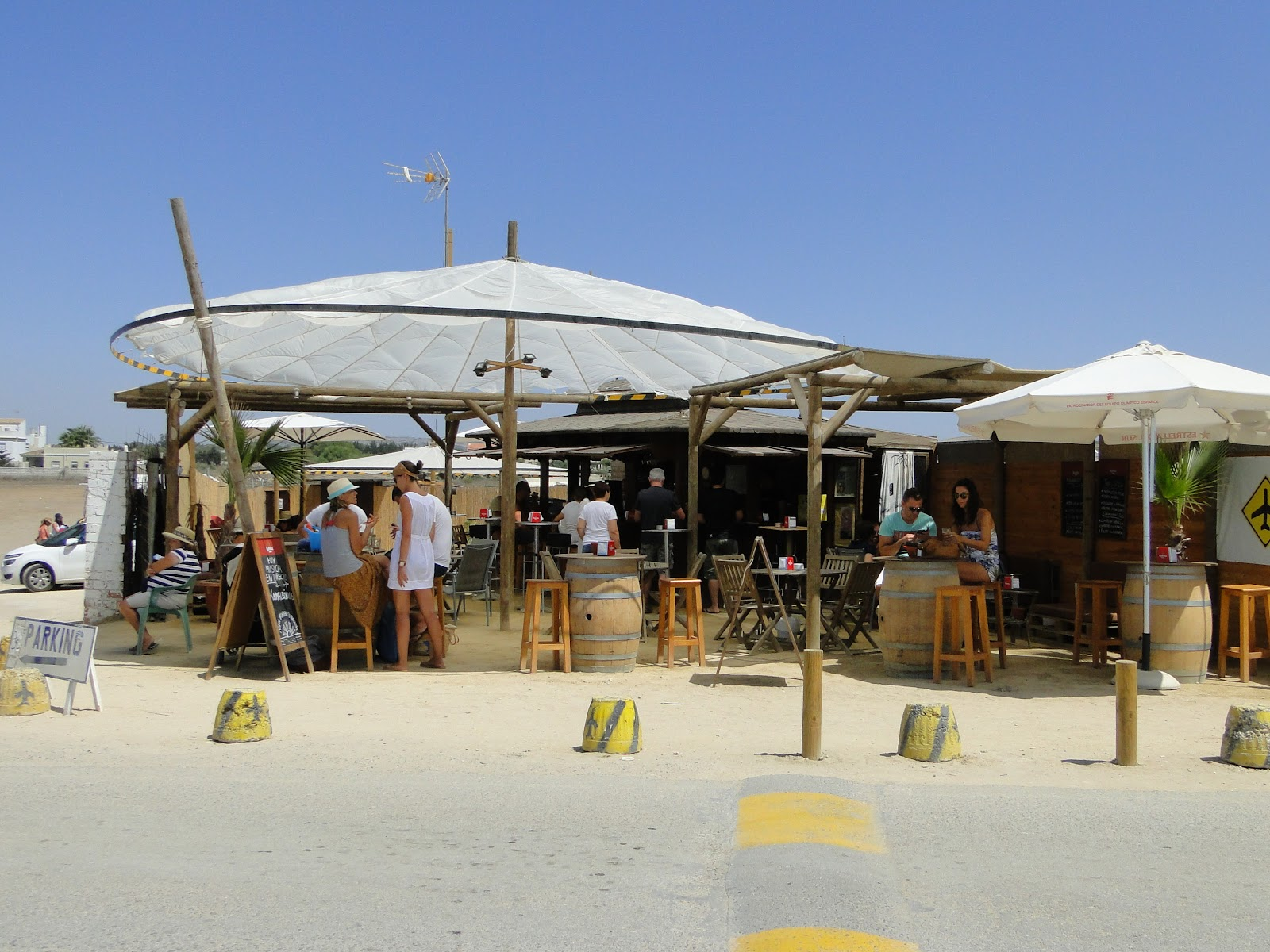 Andalucía Viajes: Playa del Palmar - Vejer de la Frontera Andalucía