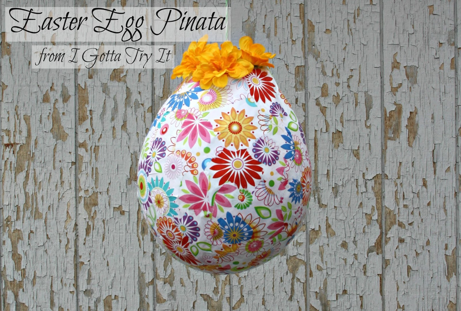 Easter Egg Pinata