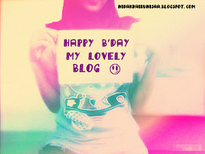 ♥1th years my ♥ly Blog!!♥