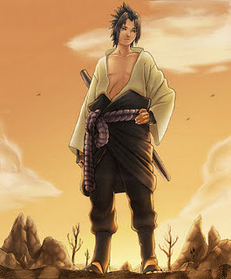 Gambar Sasuke Uchiha - Tokoh Naruto
