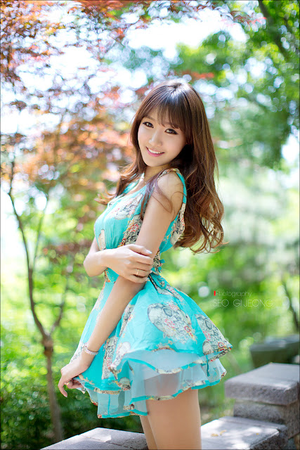 4 Jo In Young Outdoor - very cute asian girl - girlcute4u.blogspot.com