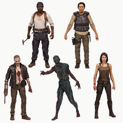 The Walking Dead TV Series 5 Action Figure Set McFarlane