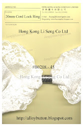 Fashion Cord Lock Ring Supplier - Hong Kong Li Seng Co Ltd