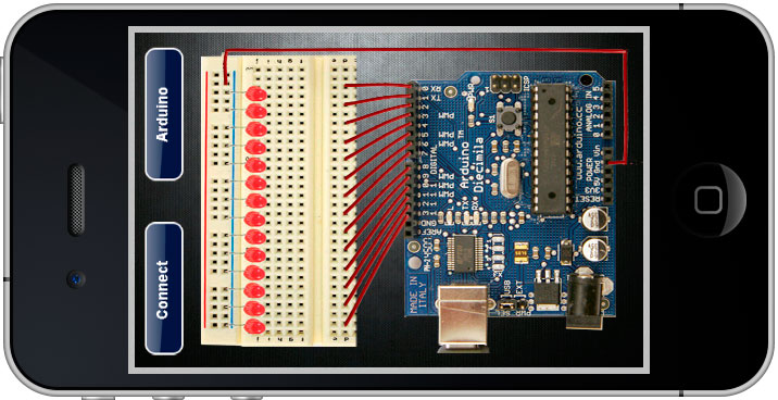 Shatechs arduino simulator on iphone