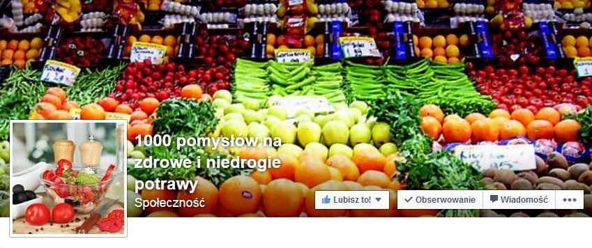 1000 pomysłów na zdrowe i niedrogie potrawy