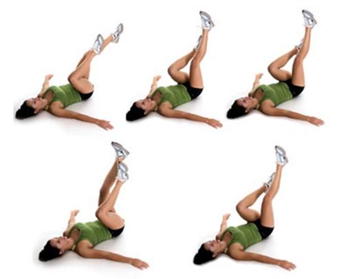 как убрать живот за неделю упражнения картинки