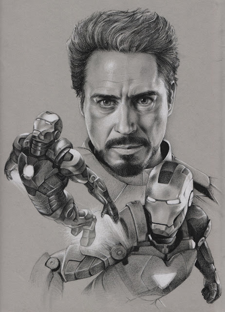 The Ironman drawing
