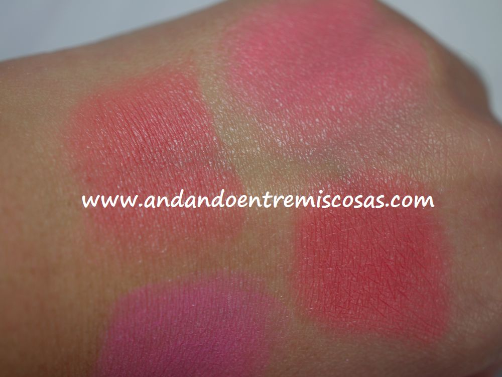 Paleta All About Cream De Makeup Revolution, swatches