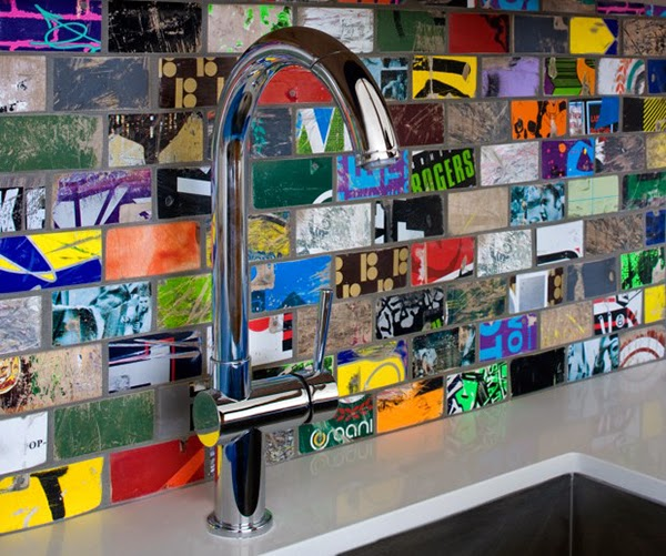 Creative Kitchen Backsplash Ideas