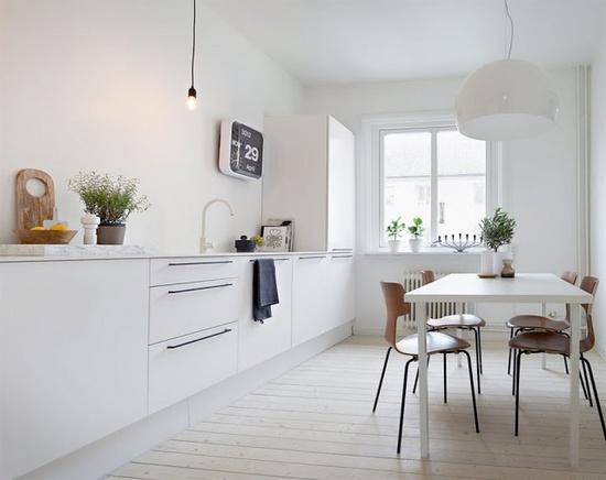 Bridoor s l cocina blanca - Tarima para cocina ...