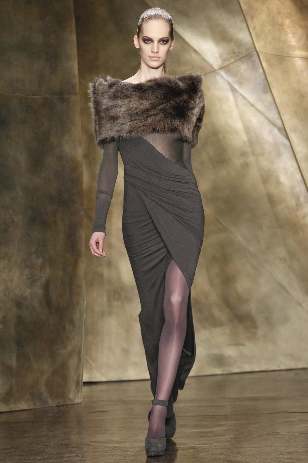 New york fashion week donna karan fall 2013