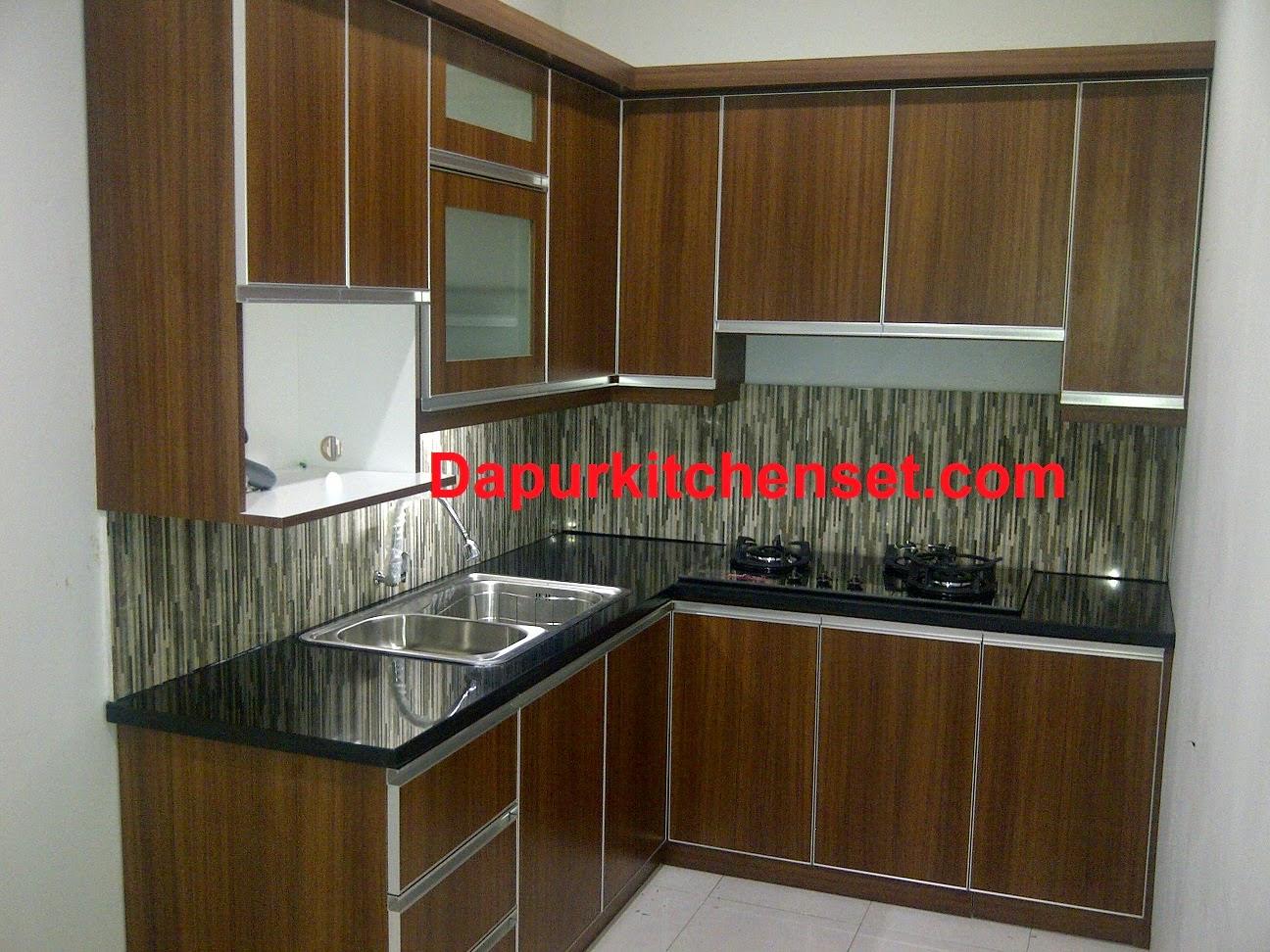 Jasa kitchen set karawang for Buat kitchen set murah