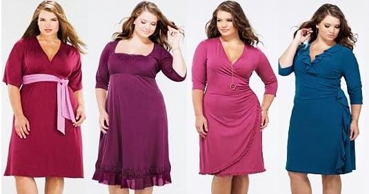 Model Gaya Style Fashion Untuk Wanita Gemuk Gendut Terbaru Locinta