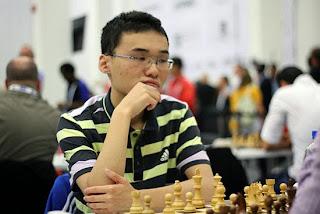 Le Chinois Yu Yangyi a réalisé pour le moment un score individuel de 8.5/10, soit une performance Elo à 2902 - Photo © site officiel