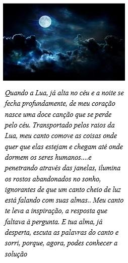Oração pra Lua