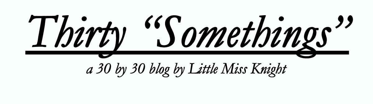 Thirty Somethings