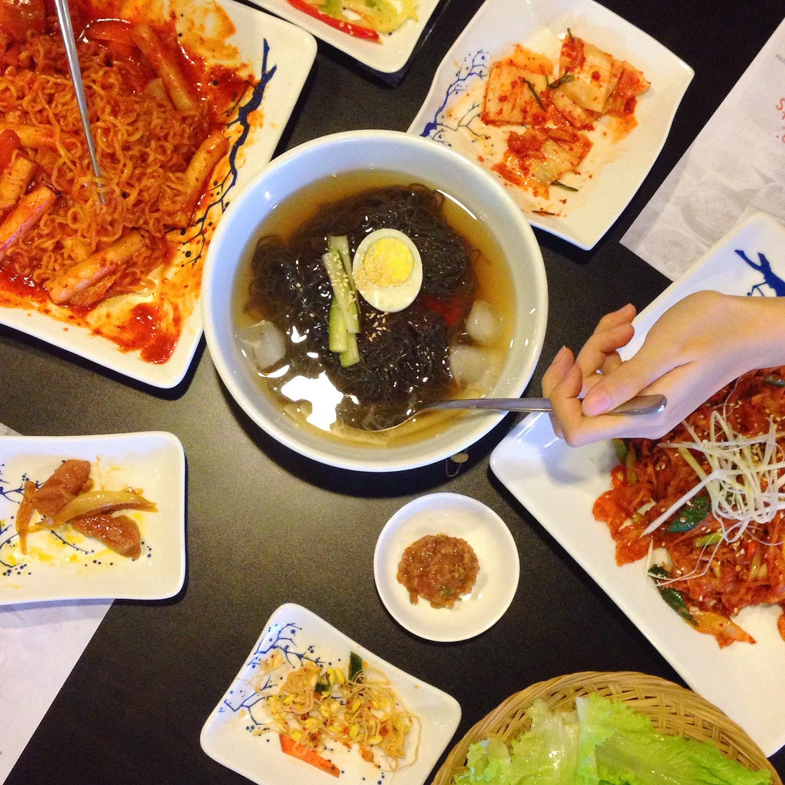 Dandelions daily gangnam authentic korean restaurant for Authentic korean cuisine
