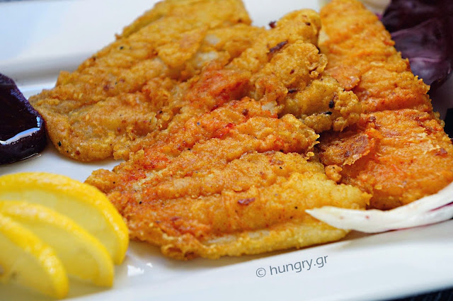 Fish Fillet Pan-Fried with Turmeric