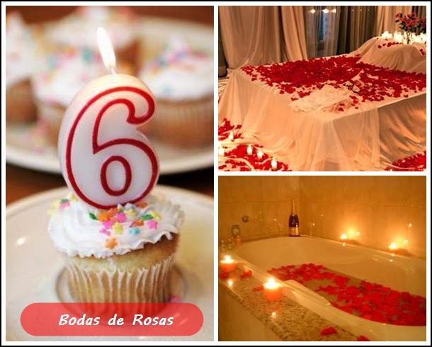 bodas de rosas 6 anos de namoro
