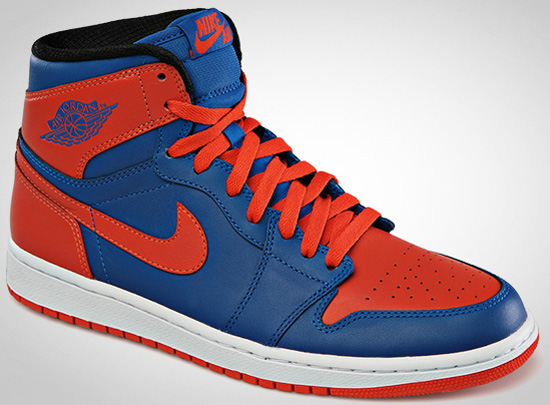 they are true to the OG complete with Nike Air on the tongue tag These come in a nice game blue and team orange New York Knicks inspired