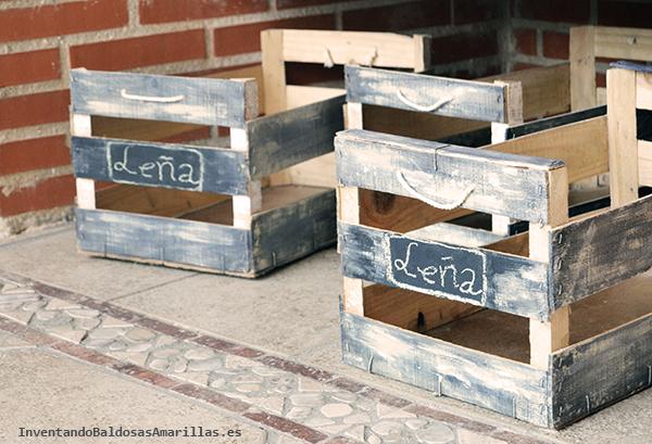 Decorar cajas de frutas - Como decorar cajas de madera paso a paso ...