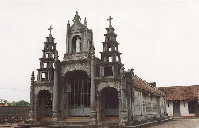 Hình ảnh đẹp về nhà thờ đá Phát Diệm - Ninh Bình