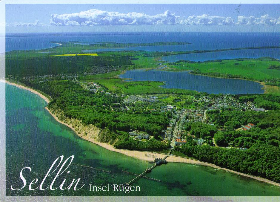 Postcard exchange germany sellin r gen for Sellin rugen urlaub