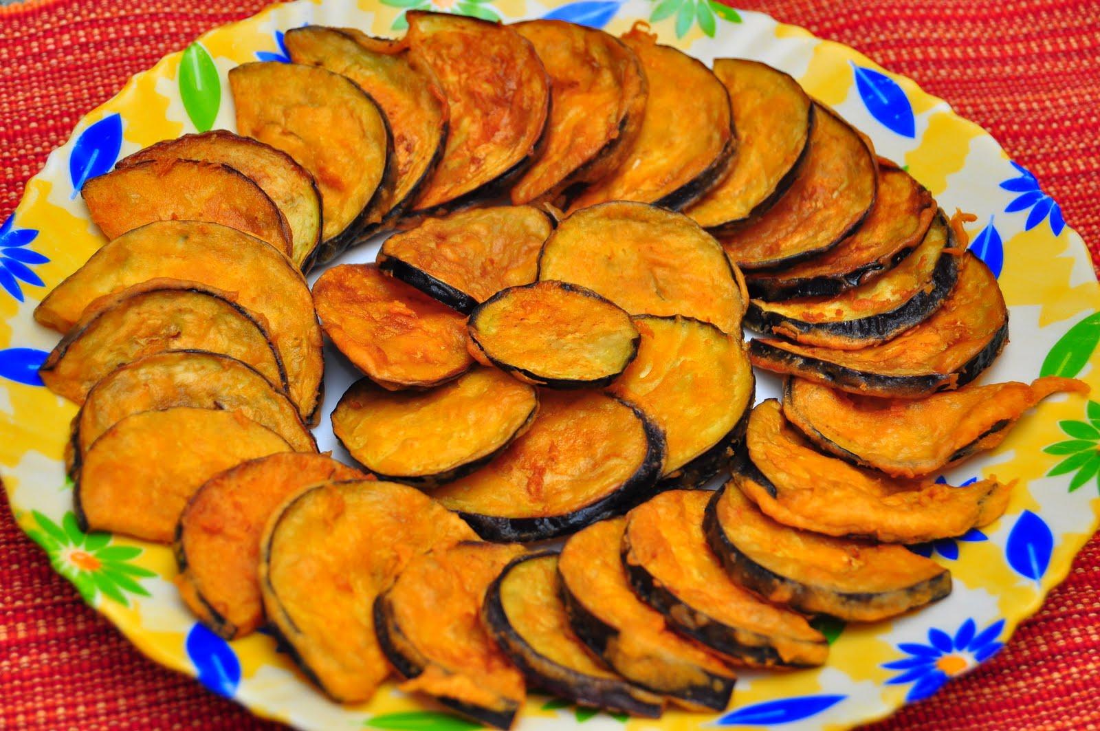 Beguni- Batter Fried Eggplants Recipes — Dishmaps