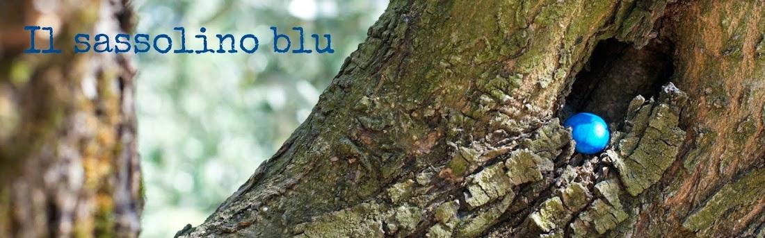 Il sassolino blu
