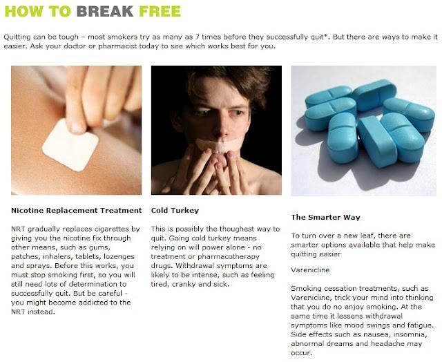 Pfizer Smoke Free Campaign