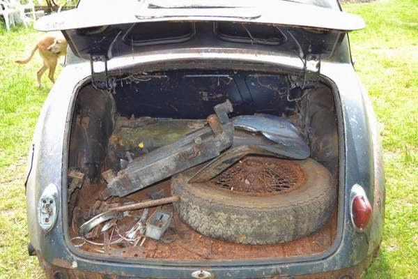Restoration Project Cars 1958 Jaguar Mki Restoration Project