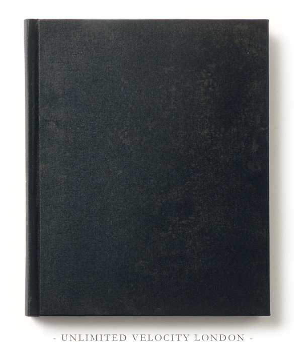 Book Cover In Black ~ Unlimited velocity london the black book