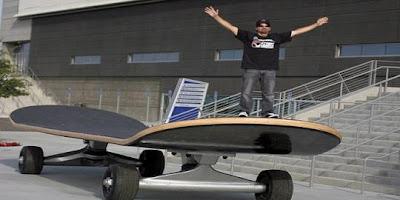 bintancenter.blogspot.com - Skateboard Terbesar Se-Jagat Pecahkan Rekor Dunia