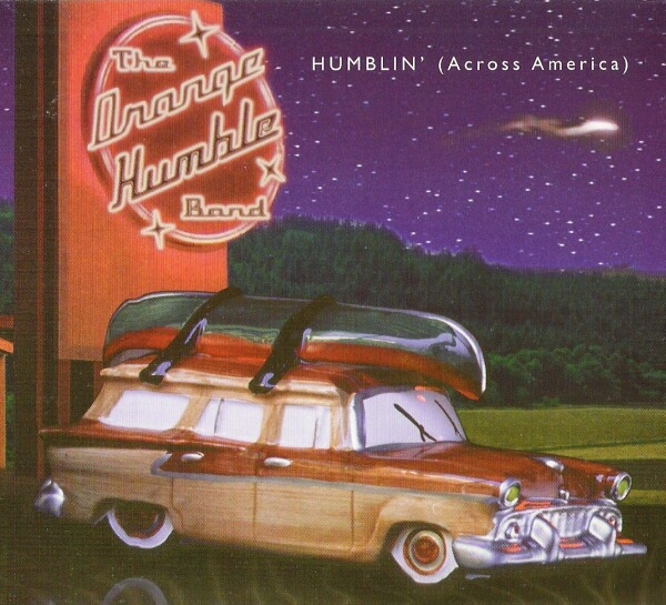 Reseña disco ORANGE HUMBLE BAND - Humblin Across America