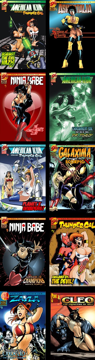 We've got a huge selection of adult comics for sale!