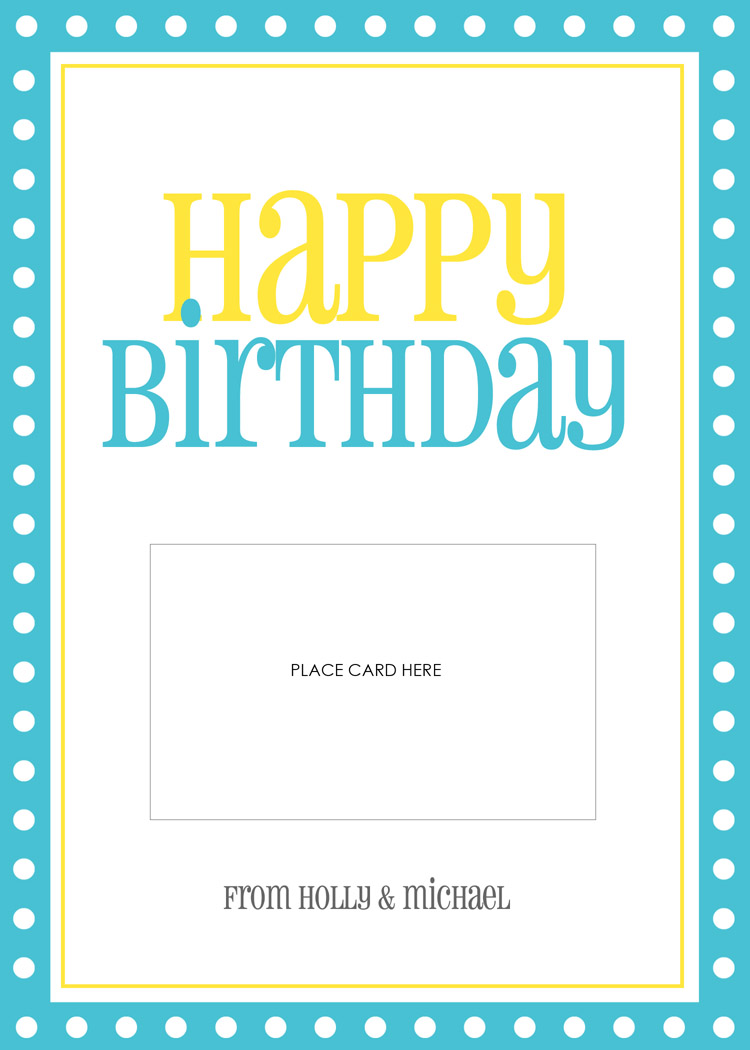 happy birthday gift certificate template - lauren chow designs gift card templates
