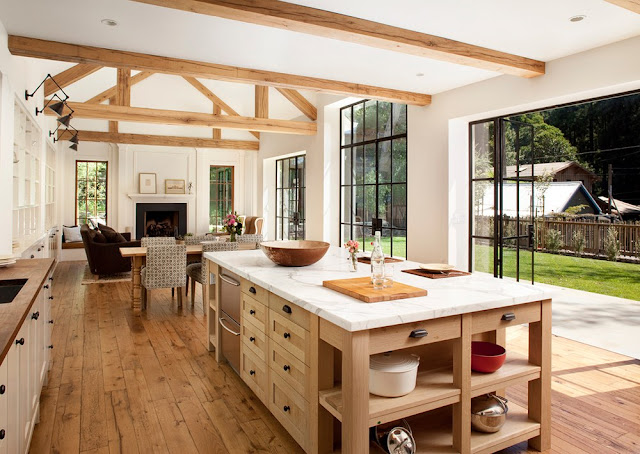 Morgan's Milieu | Home Exchange Membership Giveaway: Photo of the inside of a kitchen in a house in California.