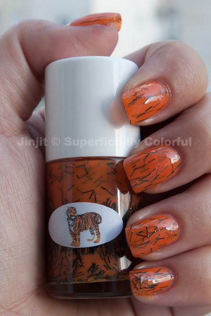 The Nail Junkie - Tiger