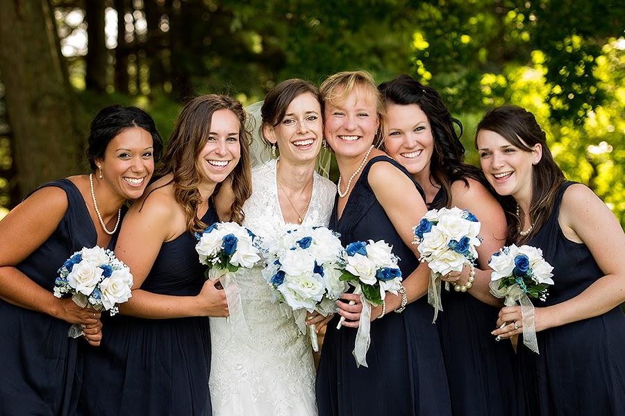 Bridesmaid Portrait at Bowling Green Country Club
